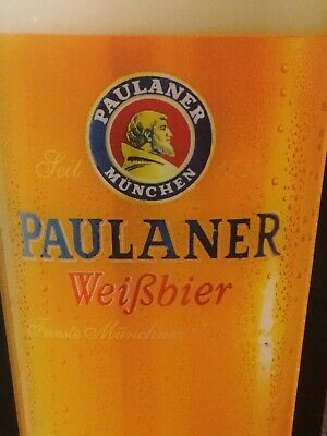 Authentic PAULANER MUNCHEN German beer Sign : 12 Volt Plug-in LED : 60cm Height