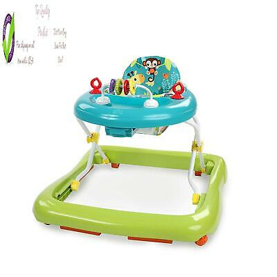 Bright Starts Giggling Safari Walker With Easy Fold Frame For Stora, As 6 Months