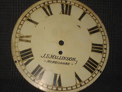 Vintage Wall Clock Painted Dial (2)