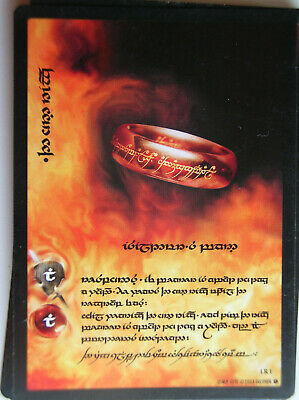 Set 18 Cards In Tengwar Fellowship Of The Ring Anthology Lord Of The Rings Tcg