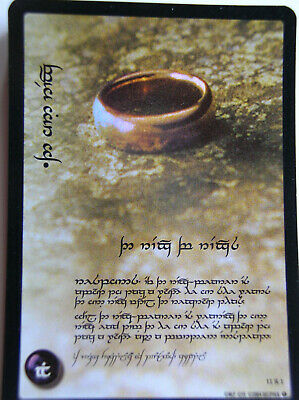 Set 18 Cards In Tengwar  Lord Of The Rings Tcg One Ring 0R11