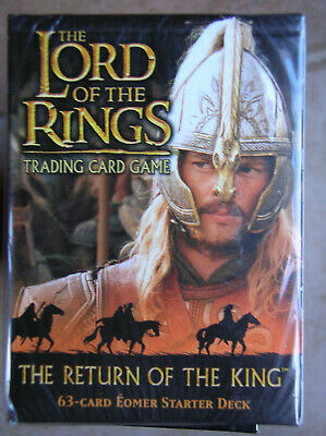 Starter Return Of The King  Eomer Vo Lord Of The Rings Tcg