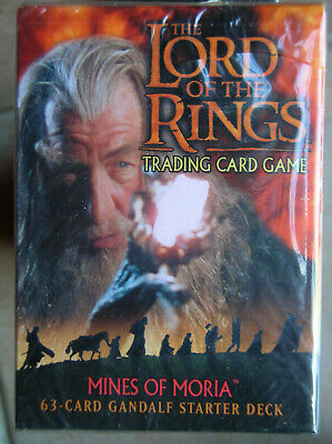 Starter Mines Of Moria Gandalf Vo Lord Of The Rings Tcg