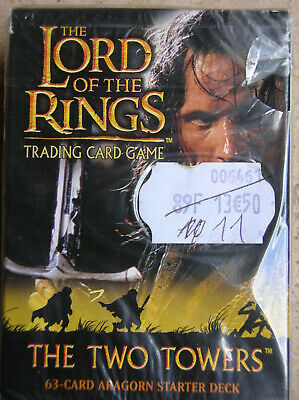 Starter Two Towers Aragorn Vo Lord Of The Rings Tcg