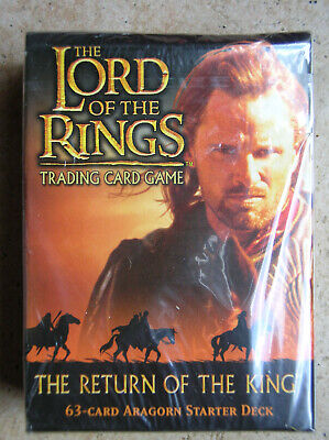 Starter Return Of The King  Aragorn Vo Lord Of The Rings Tcg