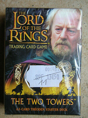 Starter Two Towers Theoden  Vo Lord Of The Rings Tcg