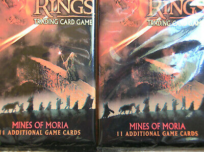 10 Boosters Mines Of Moria Vo  Lord Of The Rings Tcg