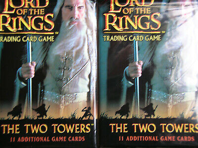 10 Boosters The Two Towers Vo  Lord Of The Rings Tcg