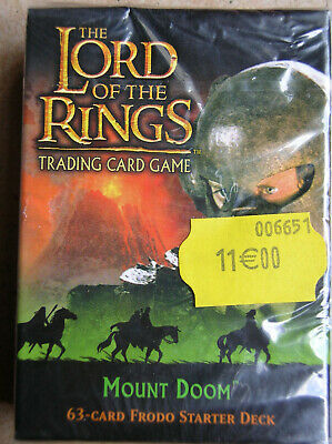 Starter Mount Doom Frodon  Vo Lord Of The Rings Tcg