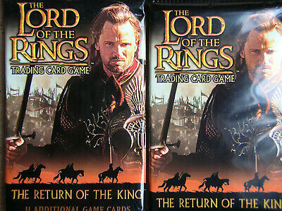 10 Boosters Return Of The King Lord Of The Rings Tcg