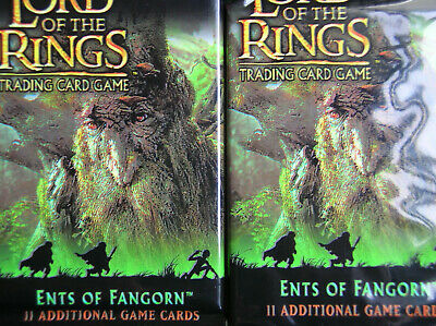 10 Boosters Ents Of Fangorn Lord Of The Rings Tcg