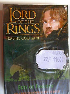 Starter Ents Of Fangorn Faramir  Vo Lord Of The Rings Tcg