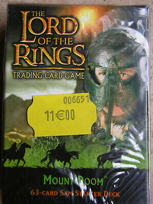 Starter Mount Doom Sam  Vo Lord Of The Rings Tcg