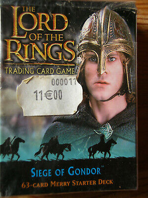 Starter Siege Of Gondor Merry Vo Lord Of The Rings Tcg