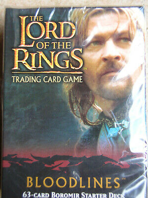 Starter Bloodlines Boromir Vo Lord Of The Rings Tcg