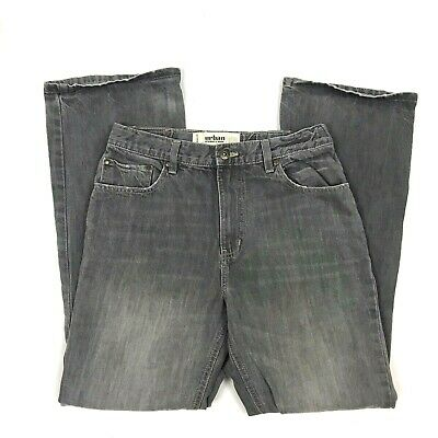 URBAN PIPELINE Boys Jeans Size 18  Adjustable Waist Gray Straight Leg