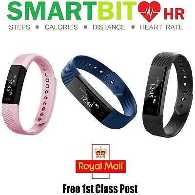 SmartFit BitSpeed Fitness Activity Tracker Heart Rate Monitor Sport Fitbit Watch