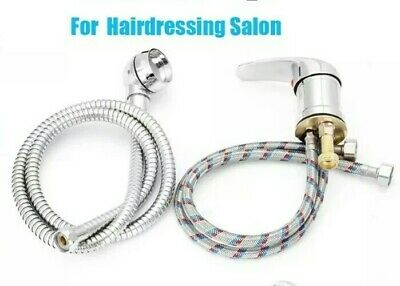 Hairdressing / Salon backwash mixer tap complete with shower head and hose