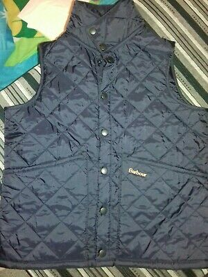 Childrens barbour gilet bodywarmer navy blue xl Brand New Without Tags