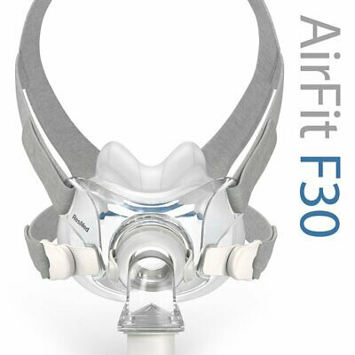 ResMed AirFit™ F30 Full Face CPAP Mask with Headgear (Size Medium)
