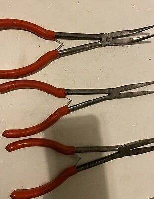 "Mac Tools 11"" Long Nose Pliers"
