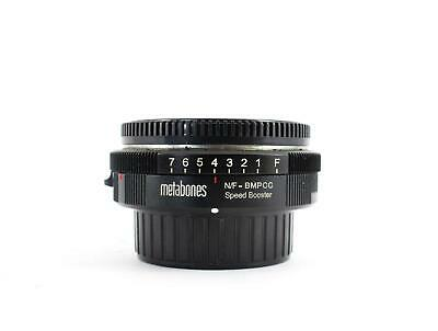 Metabones Nikon G to BMPCC Speed Booster (SKU:908571)
