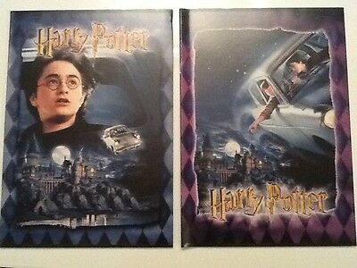 HARRY POTTER BIG NOTEBOOK SET OF 2 from the 1st MOVIE(FIGURE STATUE GRIFFINDOR)1