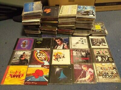 Joblot of 100 CD Albums. Mainly Rock & Indie. With some mixed genre GREAT MIX