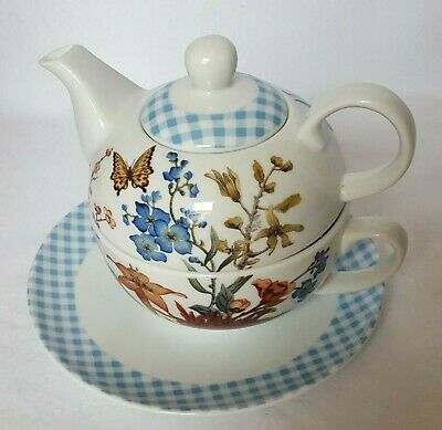 Fringe Studio Fine Porcelain Floral Tea for One Original Box  Barnes & Noble NEW