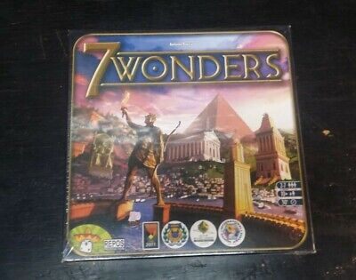 7Wonders Board Game SEALED NEW Repos Production 2014 MIB Strategy Game