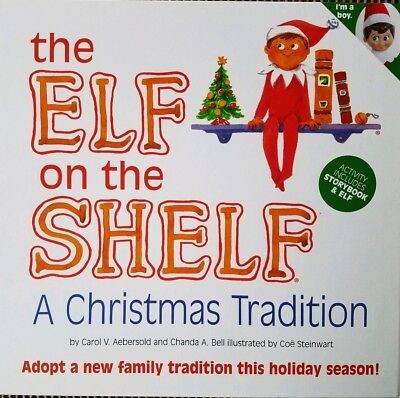 Elf on the Shelf Blue Eyed Boy Scout Elf : A Christmas Tradition - New in Box