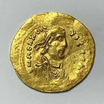 ANCIENT BYZANTINE GOLD COIN HERACLIUS. SEMISSIS 610 - 641 A.D. SCARCE coin!