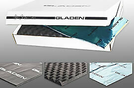 Gladen 2-Door Kit Professional Starter Set pour 2 Portes Dämmkit Isolation
