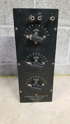 General Radio Model 670-F Decade Resistance Box==Nice!