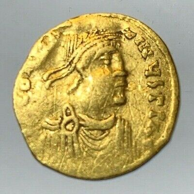 Ancient Byzantine Gold Coin Tremissis!!! Constans Ii. 641 - 668 Ad!!! Nice !!!