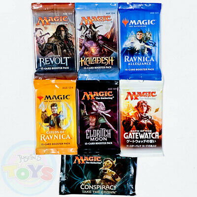 Magic the Gathering Sealed Booster Packs - You Pick Choose MTG - Chaos Draft