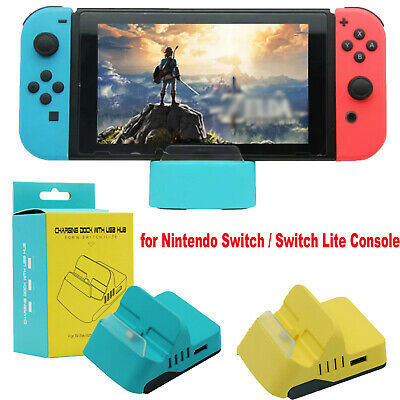 ABS Charging Dock Station Base TYPE-C for Nintendo Switch/ Switch Lite Console