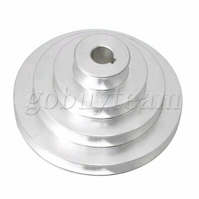 Aluminum Silver 5 Step 4-Layer Pagoda Pulley Belt for A type V-belt 16mm