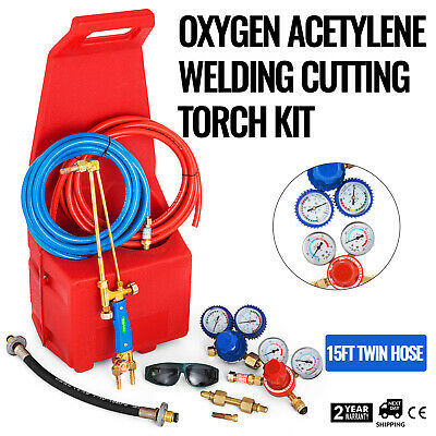 Oxygen Propane Welding Cutting Torch Kit Pipe Portable Premium BE HIGHLY PRAISED