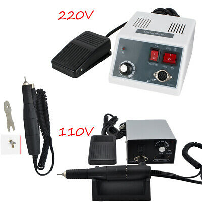 35K RPM Dental Lab Micromotor Polishing Control Unit Machine +Polisher Handpiece