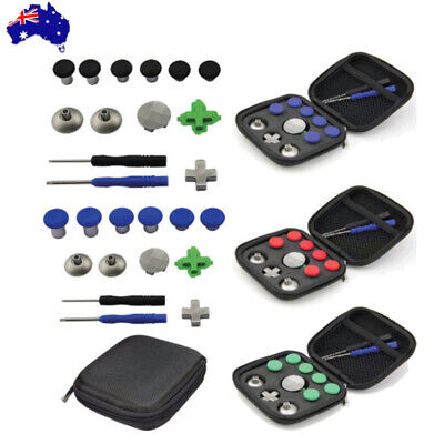 11PCS Thumbsticks Joystick Buttons Tool Kit For PS4 XBox One Elite Controller