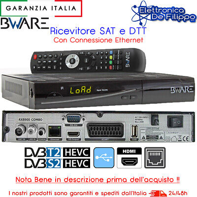 Decoder Combo Sat Terrestre Ip Dvb T2 S2 Bware Full Hd 1080P Nb Descrizione