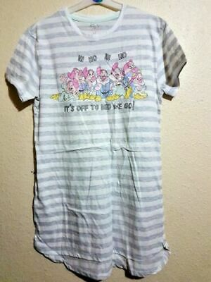 Primark DISNEY Ladies SEVEN DWARFS Nightie Nightshirt Nightdress TShirt Pyjamas