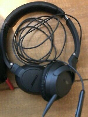 Bose SoundTrue around-ear Headband Headphones - Black - wired.