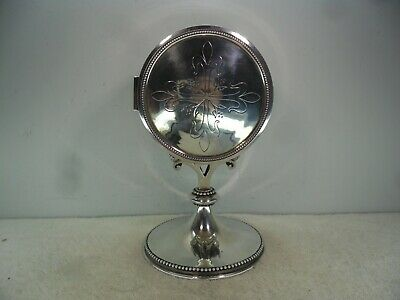 French c1900 Solid Silver & Bronze Monstrance by L.Bachelet, Paris