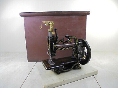 Antique Charles Raymond 'The American' New England Weir Sewing Machine c1870