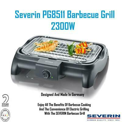 Severin PG8511 Barbecue Grill 2300W Barbecue meat Fish Grill Vegetables
