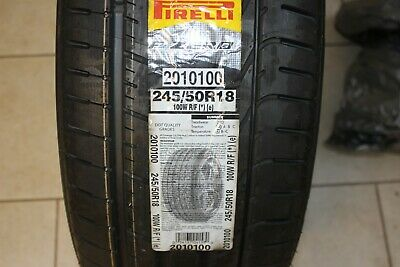 1 Piece Summer Tyre 245/50 R18 - Pirelli P Zero Bmw 100W - Run Flat