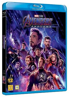 Marvel Studios Avengers: Endgame blu ray ( 2 Disc set Nordic Import )