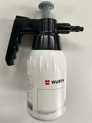 **GENUINE WURTH BRAKE CLEANER SOLVENT & PUMP DISPENSER 1LTR BOTTLE 1x - 48x **